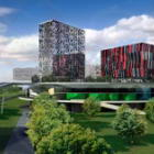Moscow Management School building complex Skolkovo, Moscow Region, Russia